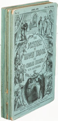 Books:Mystery & Detective Fiction, Charles Dickens. The Mystery of Edwin Drood. London: 1870.First edition, in parts. Complete with all ads.. ...