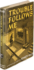 Books:Mystery & Detective Fiction, [Ross Macdonald]. Kenneth Millar. Trouble Follows Me. NewYork: 1946. First edition....
