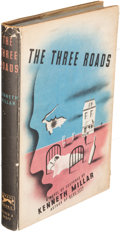 Books:Mystery & Detective Fiction, [Ross Macdonald]. Kenneth Millar. The Three Roads. New York:1948. First edition, inscribed....