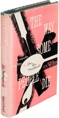 Books:Mystery & Detective Fiction, John Ross Macdonald. The Way Some People Die. New York:1951. First edition....