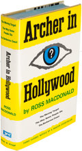 Books:Mystery & Detective Fiction, Ross Macdonald. Archer in Hollywood. New York: 1967. Firstcollected edition, presentation copy....