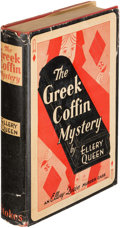 Books:Mystery & Detective Fiction, Ellery Queen. The Greek Coffin Mystery. New York: 1932.First edition....
