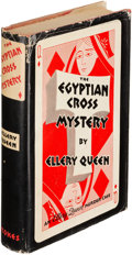 Books:Mystery & Detective Fiction, Ellery Queen. The Egyptian Cross Mystery. New York: 1932.First edition....