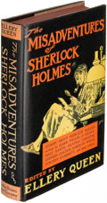 Books:Mystery & Detective Fiction, Ellery Queen. The Misadventures of Sherlock Holmes. Boston:1944. First edition, Dinner issue, signed....