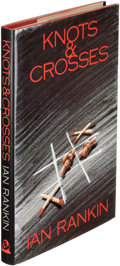 Books:Mystery & Detective Fiction, Ian Rankin. Knots & Crosses. London: [1987]. Firstedition, signed with doodle....