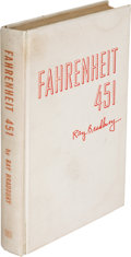 Books:Science Fiction & Fantasy, Ray Bradbury. Fahrenheit 451. Illustrated by Joe Mugnaini. New York: Ballantine Books, Inc., [1953]. First edition, ...