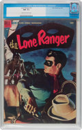 Golden Age (1938-1955):Western, Lone Ranger #71 (Dell, 1954) CGC NM- 9.2 Cream to off-whitepages....