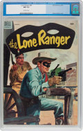 Golden Age (1938-1955):Western, Lone Ranger #80 (Dell, 1955) CGC NM 9.4 Off-white pages....