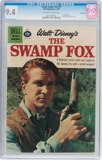 Four Color #1179 Swamp Fox - File Copy (Dell, 1961) CGC NM 9.4 Off-white to white pages