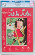 Golden Age (1938-1955):Humor, Four Color #131 Marge's Little Lulu (Dell, 1947) CGC NM- 9.2 Cream to off-white pages....