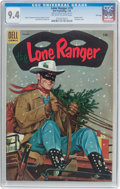 Golden Age (1938-1955):Western, Lone Ranger #79 File Copy (Dell, 1955) CGC NM 9.4 Off-white towhite pages....