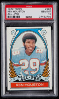 Football Cards:Singles (1970-Now), 1972 Topps Ken Houston All-Pro #287 PSA Gem Mint 10....