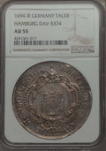 German States:Hamburg, German States: Hamburg. Free City Taler 1694-IR AU55 NGC,...