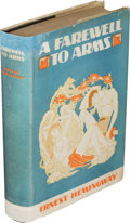 Books:Literature 1900-up, Ernest Hemingway. A Farewell to Arms. New York: 1929. Firstedition....