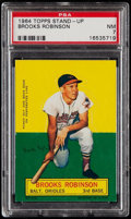 Baseball Cards:Singles (1960-1969), 1964 Topps Stand-Up Brooks Robinson PSA NM 7....