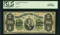 Canadian Currency: , DC-9b $2 1878 Toronto.. ...
