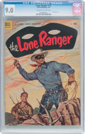 Golden Age (1938-1955):Western, Lone Ranger #73 (Dell, 1954) CGC VF/NM 9.0 Off-white to whitepages....