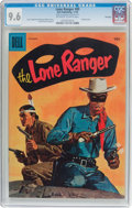 Golden Age (1938-1955):Western, Lone Ranger #89 File Copy (Dell, 1955) CGC NM+ 9.6 Off-white towhite pages....