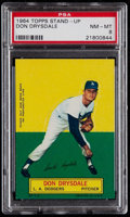 Baseball Cards:Singles (1960-1969), 1964 Topps Stand-Up Don Drysdale PSA NM-MT 8....
