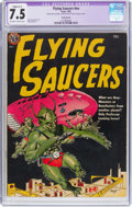 Golden Age (1938-1955):Science Fiction, Flying Saucers #nn (Avon, 1952) CGC Apparent VF- 7.5 Slight (A-1)Off-white to white pages....