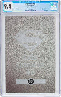 Superman #75 Poly-Bagged Platinum Edition (DC, 1993) CGC NM 9.4 White pages