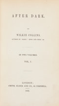 Books:Mystery & Detective Fiction, Wilkie Collins. After Dark. London: Smith, Elder and Co.,1856. First edition.... (Total: 2 Items)