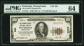 National Bank Notes:Pennsylvania, Pittsburgh, PA - $100 1929 Ty. 1 The Farmers Deposit NB Ch. # 685. ...