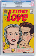 Golden Age (1938-1955):Romance, First Love Illustrated #72 File Copy (Harvey, 1957) CGC VF/NM 9.0Cream to off-white pages....
