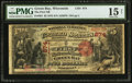 National Bank Notes:Wisconsin, Green Bay, WI - $5 1875 Fr. 401 The First NB Ch. # 874. ...