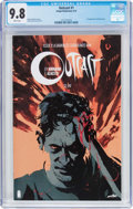 Modern Age (1980-Present):Horror, Outcast By Kirkman & Acaceta #1 (Image, 2014) CGC NM/MT 9.8White pages....