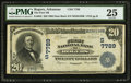 Rogers, AR - $20 1902 Date Back Fr. 642 The First NB Ch. # (S)7789