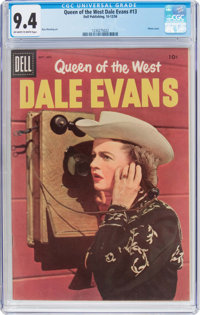 Queen of the West Dale Evans #13 (Dell, 1956) CGC NM 9.4 Off-white to white pages