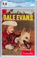 Golden Age (1938-1955):Western, Queen of the West Dale Evans #9 File Copy (Dell, 1955) CGC VF/NM9.0 White pages....