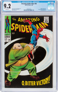 The Amazing Spider-Man #60 (Marvel, 1968) CGC NM- 9.2 White pages
