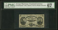 Fractional Currency:Third Issue, Fr. 1272SP PMG Superb Gem Unc 67 EPQ.. ...