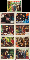 """Movie Posters:Film Noir, Ride the Pink Horse & Others Lot (Universal International, 1947). Lobby Cards (9) (11"""" X 14""""). Film Noir.. ... (Total: 9 Items)"""