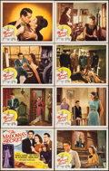 "Movie Posters:Crime, The Madonna's Secret (Republic, 1946). Lobby Card Set of 8 (11"" X14""). Crime.. ... (Total: 8 Items)"
