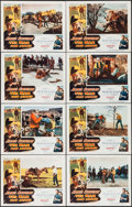 "Movie Posters:Western, The Man from Laramie (Columbia, 1955). Lobby Card Set of 8 (11"" X14""). Western.. ... (Total: 8 Items)"