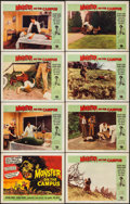 "Movie Posters:Horror, Monster on the Campus (Universal International, 1958). Lobby CardSet of 8 (11"" X 14""). Horror.. ... (Total: 8 Items)"
