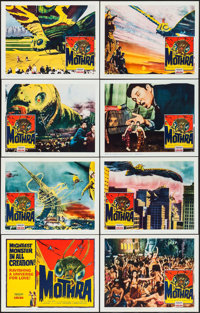 "Mothra (Columbia, 1962). Lobby Card Set of 8 (11"" X 14""). Science Fiction. ... (Total: 8 Items)"