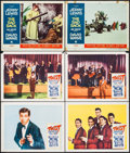 "Movie Posters:Rock and Roll, Twist Around the Clock & Others Lot (Columbia, 1961). LobbyCards (6) & Lobby Card Set of 8 (11"" X 14""). Rock and Roll..... (Total: 14 Items)"