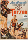 "Movie Posters:Adventure, Tarzan Escapes & Other Lot (MGM, R-1967). Spanish One Sheets(2) (27.5"" X 39.5""). Adventure.. ... (Total: 2 Items)"