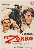 """Movie Posters:Foreign, Zorro (Izaro, 1976). Spanish One Sheets (2) (27.5"""" X 39.5""""). Foreign.. ... (Total: 2 Items)"""