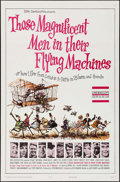 """Movie Posters:Adventure, Those Magnificent Men in Their Flying Machines (20th Century Fox,1965). One Sheet (27"""" X 41""""). Adventure.. ..."""