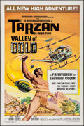 "Movie Posters:Adventure, Tarzan and the Valley of Gold (American International, 1966). OneSheet (27"" X 41""). Adventure.. ..."