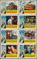 "Movie Posters:Thriller, Second Chance (RKO, 1953). Lobby Card Sets of 8 (2 Sets) & Lobby Cards (26) (11"" X 14"") 3-D Style. Thriller.. ... (Total: 42 Items)"