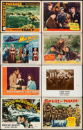 "Movie Posters:War, Sink the Bismarck! & Others Lot (20th Century Fox, 1960). TitleLobby Cards (4) & Lobby Cards (78) (11"" X 14""). War.. ...(Total: 82 Items)"