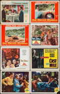 "Movie Posters:Adventure, Malaya & Others Lot (MGM, 1949). Lobby Cards (23) & TitleLobby Cards (5) (11"" X 14""). Adventure.. ... (Total: 28 Items)"