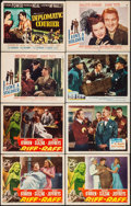 "Movie Posters:Adventure, Riff-Raff & Others Lot (RKO, 1947). Lobby Cards (45) &Title Cards (4) (11"" X 14""). Adventure.. ... (Total: 49 Items)"