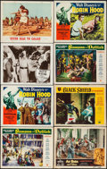 """Movie Posters:Adventure, Samson and Delilah & Others Lot (Paramount, 1949). Lobby Cards(80) & Identical Title Cards (2) (11"""" X 14""""). Adventure.. ...(Total: 82 Items)"""